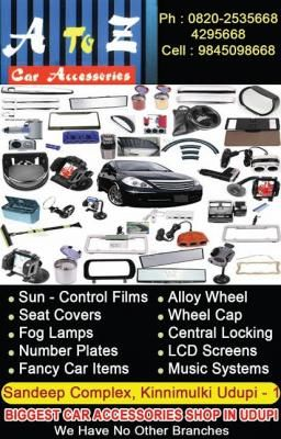 A to Z Car Accessories
